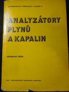 náhled knihy - Analyzátory plynů a kapalin