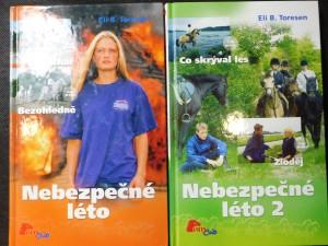 náhled knihy - Nebezpečné léto 1 a 2