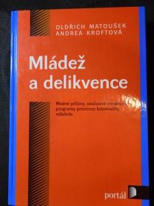 náhled knihy - Mládež a delikvence