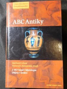 náhled knihy - ABC antiky : [2 457 hesel : mytologie, dějiny, umění]