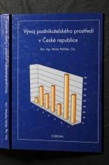 náhled knihy - Vývoj podnikatelského prostředí v České republice