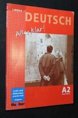 náhled knihy - Lingua 21. Deutsch Alles Klar! A2