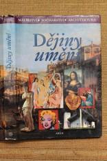 náhled knihy - Dějiny umění : malířství, sochařství, architektura