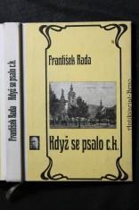 náhled knihy - Když se psalo c.k. : Ze života Českých Budějovic na počátku století