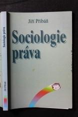 náhled knihy - Sociologie práva : systémově teoretický přístup k modernímu právu