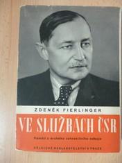 náhled knihy - Ve službách ČSR - Paměti z druhého zahraničního odboje