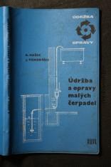 náhled knihy - Údržba a opravy malých čerpadel