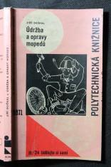 náhled knihy - Údržba a opravy mopedů : určeno řidičům a opravářům mopedů