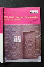 náhled knihy - MS DOS ; Norton Commander : Příručka pro uživatele