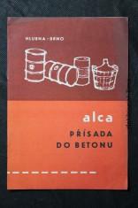 náhled knihy - Alca : přísada do betonu