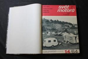 náhled knihy - Svět motorů druhé pololetí 1964