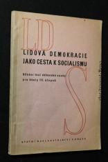 náhled knihy - Lidová demokracie jako cesta k socialismu : Učeb. text obč. nauky pro šk. 3. stup.