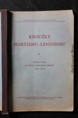 náhled knihy - Kroužky marxismu-leninismu : Učební texty pro rok stranického školení 1951-1952