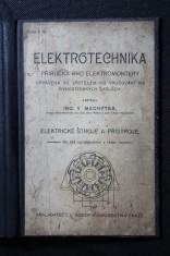 náhled knihy - Elektrotechnika : příručka pro elektromontéry, upravená se zřetelem ku vyučování na živnostenských školách. [Díl] 1, Elektrické stroje a přístroje