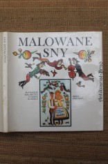 náhled knihy - Malowane sny : Słowackie malarstwo ludowe na skle