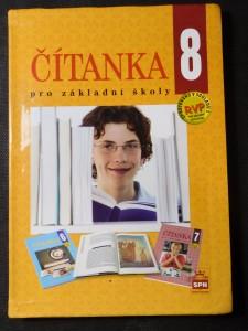 náhled knihy - Čítanka 8 : literární výchova pro 8. ročník základní školy a pro odpovídající ročník víceletých gymnázií