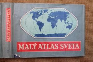 náhled knihy - Malý atlas sveta. Sv. 2