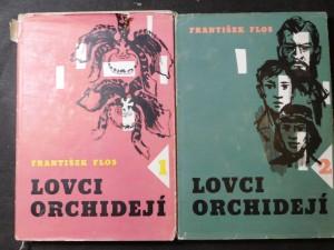 náhled knihy - Lovci orchidejí první a druhý díl