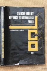 náhled knihy - Statické hodnoty kovových konstrukčních prvků