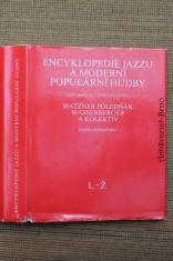 náhled knihy - Encyklopedie jazzu a moderní populární hudby. [Díl] II, Část jmenná. Světová scéna - osobnosti a soubory, L-Ž