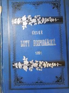 náhled knihy - České listy hospodářské 1895