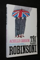 náhled knihy - Tři blázniví Robinsoni