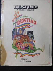 náhled knihy - The Beatles v písních a obrazech