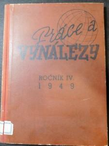 náhled knihy - Práce a vynálezy 1949, ročník IV.