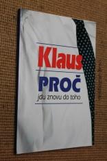 náhled knihy - Klaus - proč jdu znovu do toho