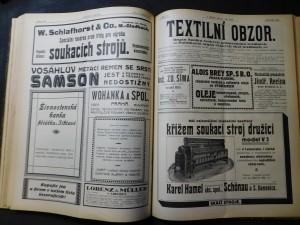 náhled knihy - Textilní obzor XIV.