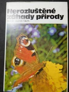 náhled knihy - Nerozluštěné záhady přírody
