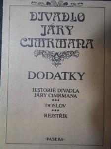 náhled knihy - Divadlo Járy Cimrmana Dodatky