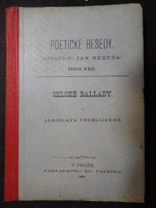 náhled knihy - Selské ballady