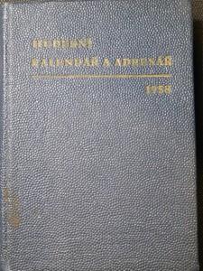 náhled knihy - Hudební kalendář a adresář na rok 1958