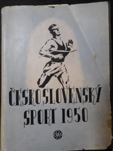 náhled knihy - Československý sport 1950