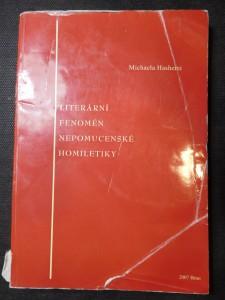 náhled knihy - Literární fenomén nepomucenské homiletiky