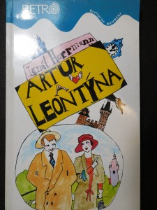 náhled knihy - Artur a Leontýna