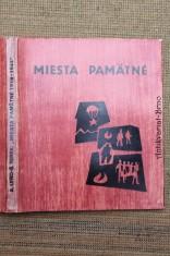 náhled knihy - Miesta pamätné : 1918-1944