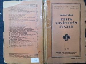 náhled knihy - Cesta sovětským Svazem