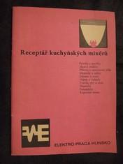 náhled knihy - Receptář kuchyňských mixérů