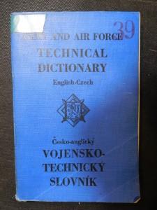 náhled knihy - Army and Air Force Technical Dictionary / Vojensko-technický slovník