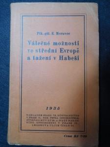 náhled knihy - Válečné možnosti ve střední Evropě a tažení v Habeši