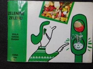 náhled knihy - Zelenine zelenú