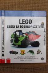 náhled knihy - LEGO - cesta za dobrodružstvím : auta, hrady, dinosauři a další!