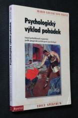 náhled knihy - Psychologický výklad pohádek : smysl pohádkových vyprávění podle jungovské archetypové psychologie