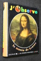 náhled knihy - J´Observe : le Musée du Louvre