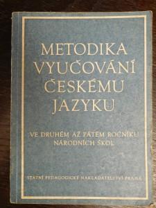 náhled knihy - Metodika vyučování českému jazyku v druhém až pátém ročníku národních škol