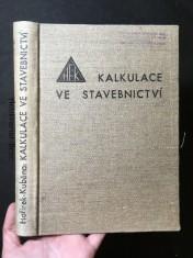 náhled knihy - Kalkulace ve stavebnictví