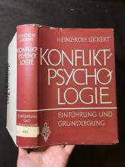 náhled knihy - Konflikt - Psychologie: Einführung und Grundlegung