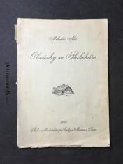 náhled knihy - Obrázky ze Slabikáře: [196 kreseb, které kdysi nakreslil Mikoláš Aleš pro slabikář, sestavený autory Ad. Frumarem a J. Jursou